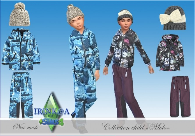 MOLO COLLECTION CHILD  By IRINK@A
