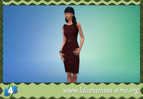 READY FOR BUSINESS PENCIL DRESS By  LALUNAROSSA