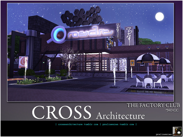 THE FACTORY - CLUB by Pralinesims