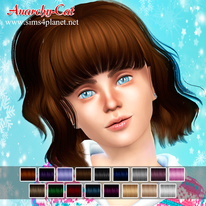 TS4 Hair81G by Anarchy-Cat