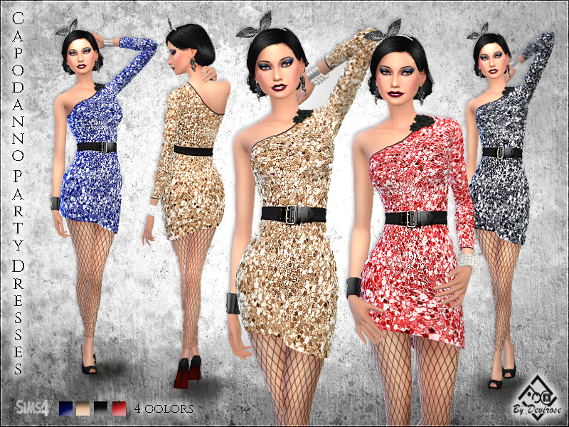 Capodanno Party Dresses  BY Devirose