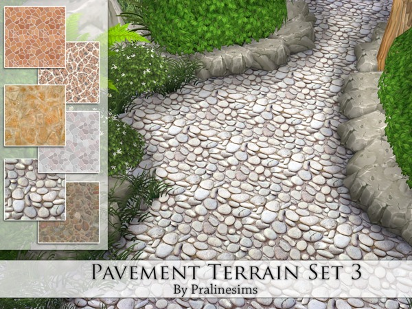 Pavement Terrain Set 3 by Pralinesims