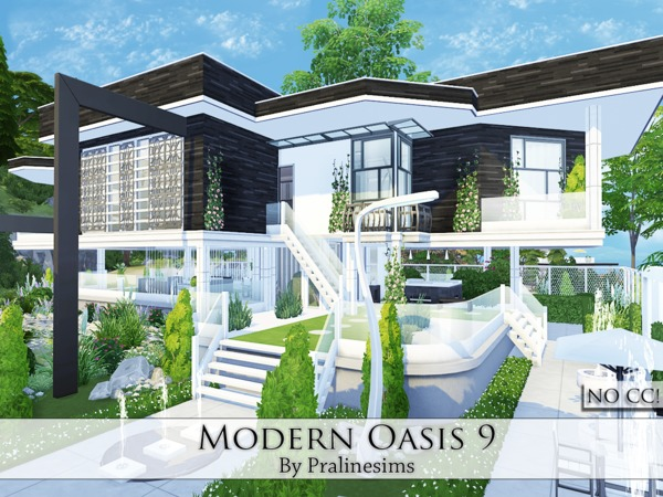 Modern Oasis 9 by Pralinesims