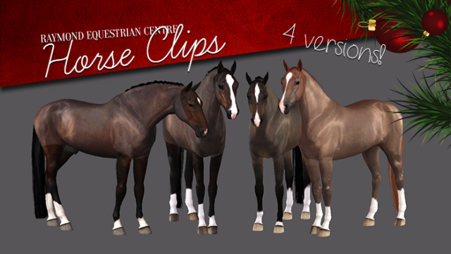 Horse clips by Raymond Equestrian Center