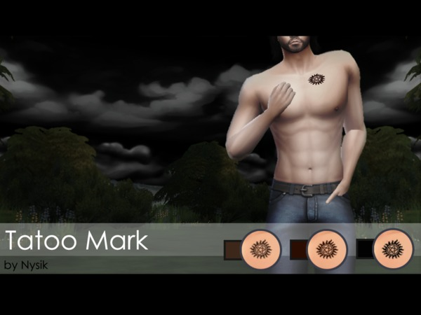 Tatoo Mark [SUPERNATURAL] by Nys!k