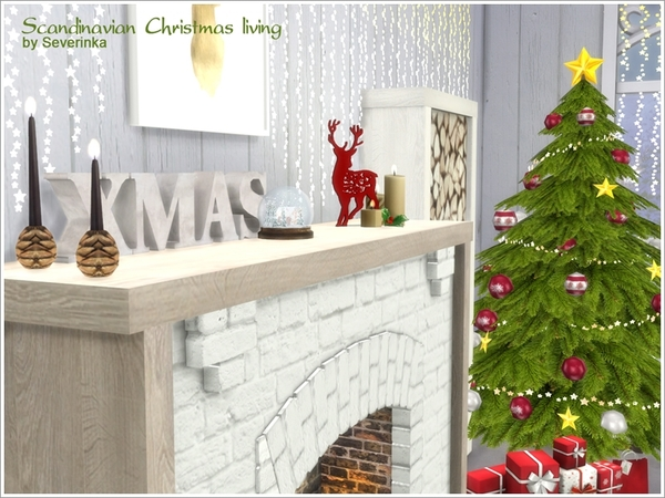 Scandinavian Christmas living by Severinka
