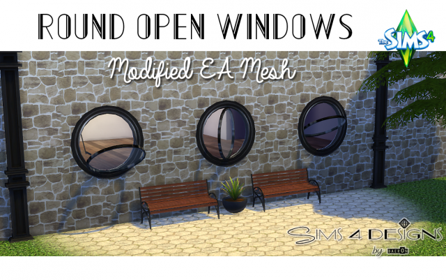 Round Open Windows by Daer0n