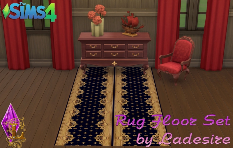 Rug Floor Set by Ladesire