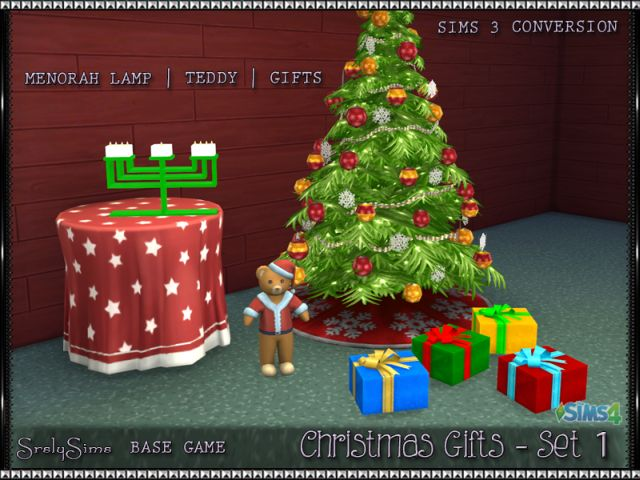 Christmas Gifts (Set 1) by SrslySims
