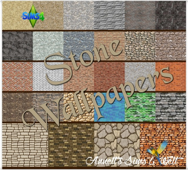 Mega Pack - Stone Wallpapers by Annett85