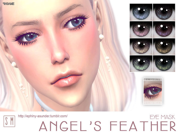 [ Angel's Feather ] - Eye Mask by Screaming Mustard