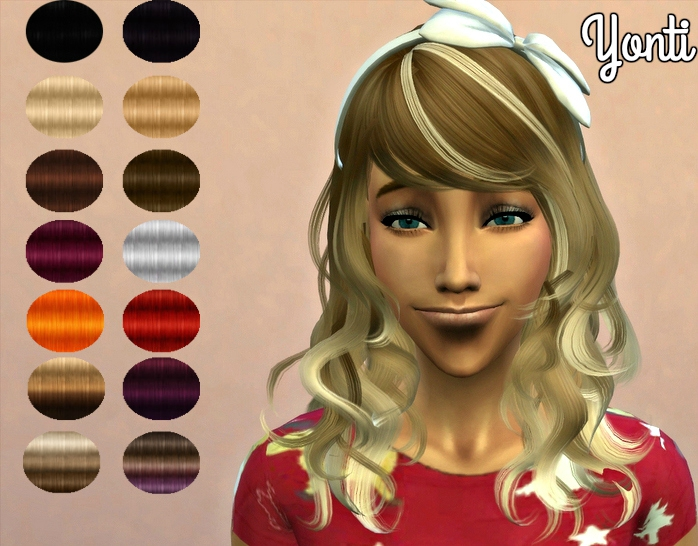 Genius_yfHair_newsea eyes on me retextured