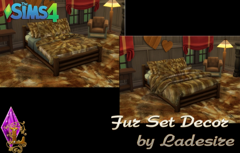 Fur Set Decor (15 recolors) by Ladesire