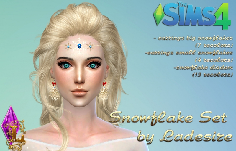 Snowflake Accessories Set by Ladesire