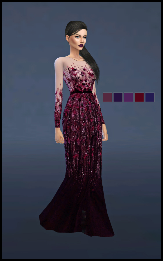 KENZAR- LUTHIEN DRESS