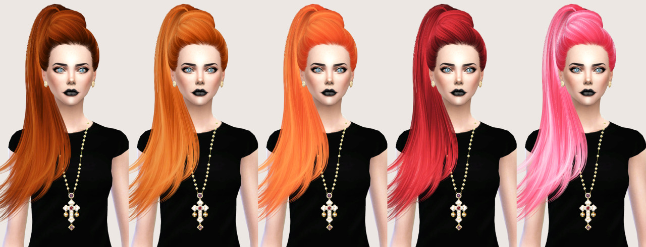 salem2342 Skysims Hair 268 Jem Retexture (TS4)