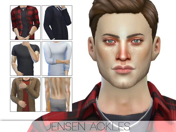 Jensen Ackles by Pralinesims