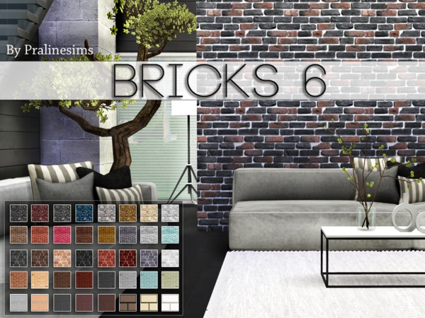 Bricks 6 by Pralinesims