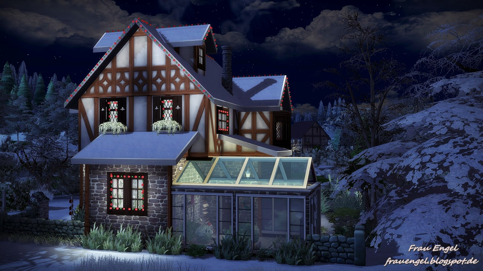 Frau Engel  Houses and Lots, Residential Lots : Tudor style house Happy New Year