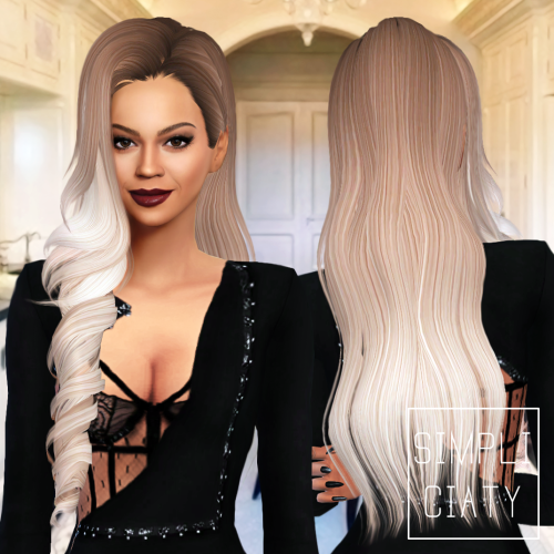 Simpliciaty  Hairstyles : Skysims 244 (Simsways Edit)(S3S4)