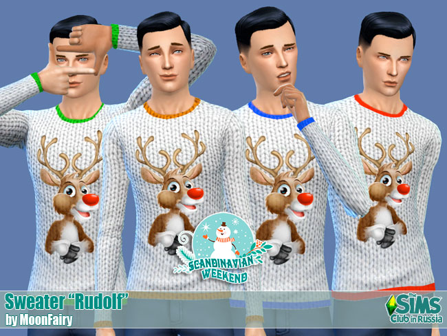 Sweater Rudolf by MoonFairy
