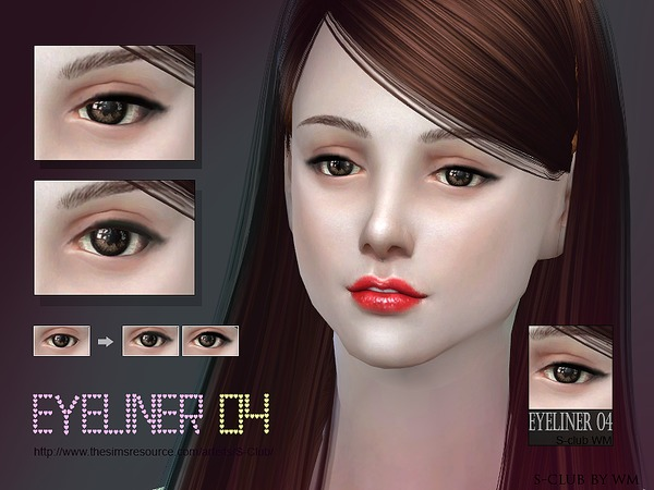 S-Club WM ts4 eyeliner 04