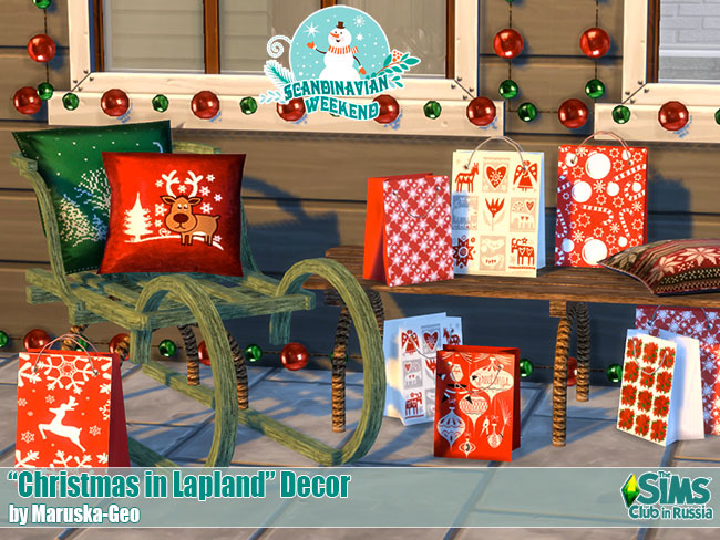 Christmas in Lapland Decor by Mary_13