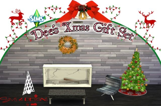 TS2 Dee's Christmas Set Conversions by Daer0n