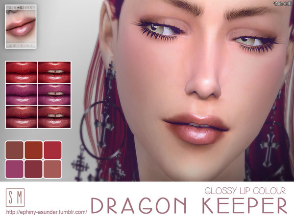 [ Dragon Keeper ] - Glossy Lip Colour by Screaming_Mustard
