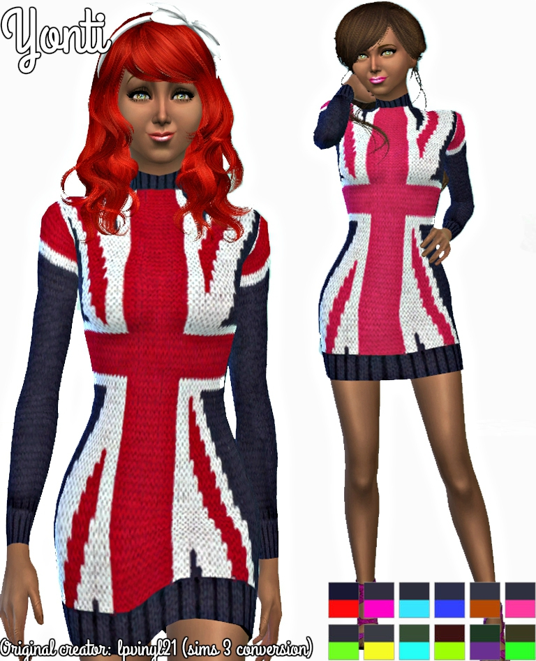 Yonti sims 3 conversion fashion 001