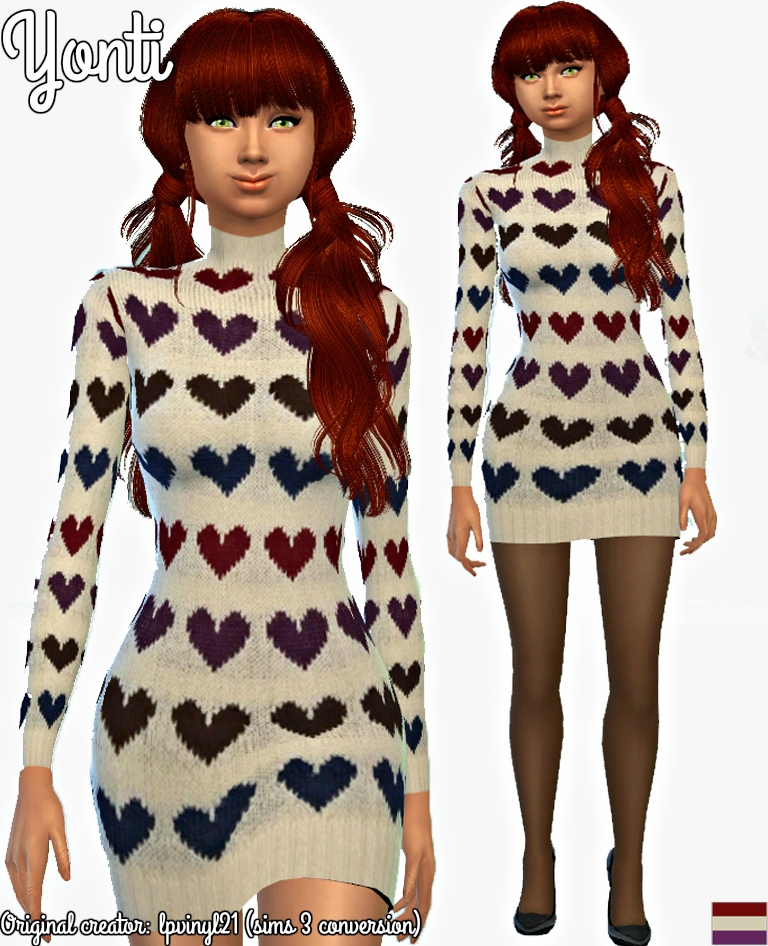 Yonti sims 3 conversion fashion 002