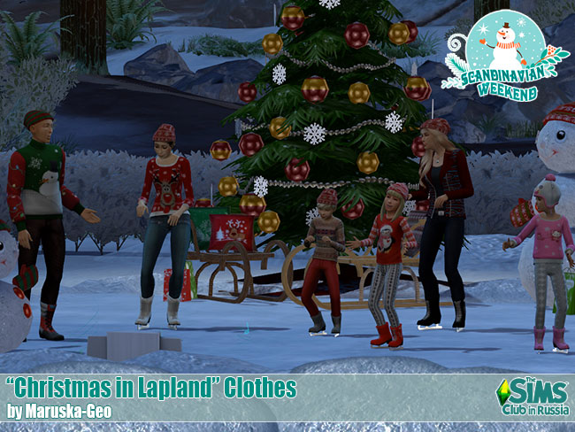 Christmas in Lapland Decor от Mary_13