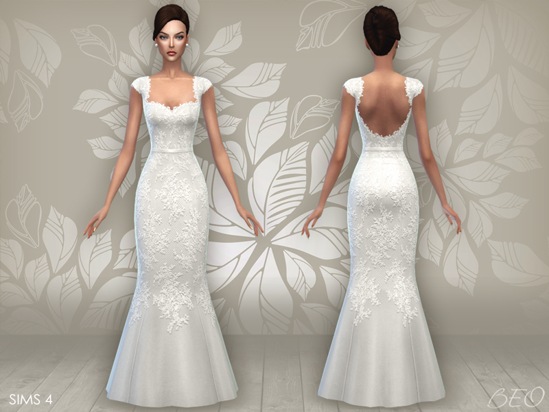 BEO Creations  Clothing, Female : WEDDING DRESS 06