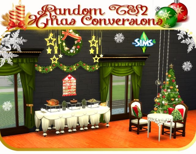 TS2 Christmas Conversions by Daer0n