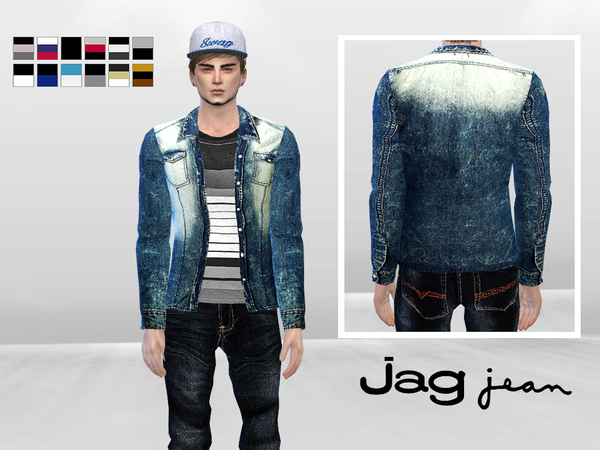 Electric Shock Denim Jacket by McLayneSims