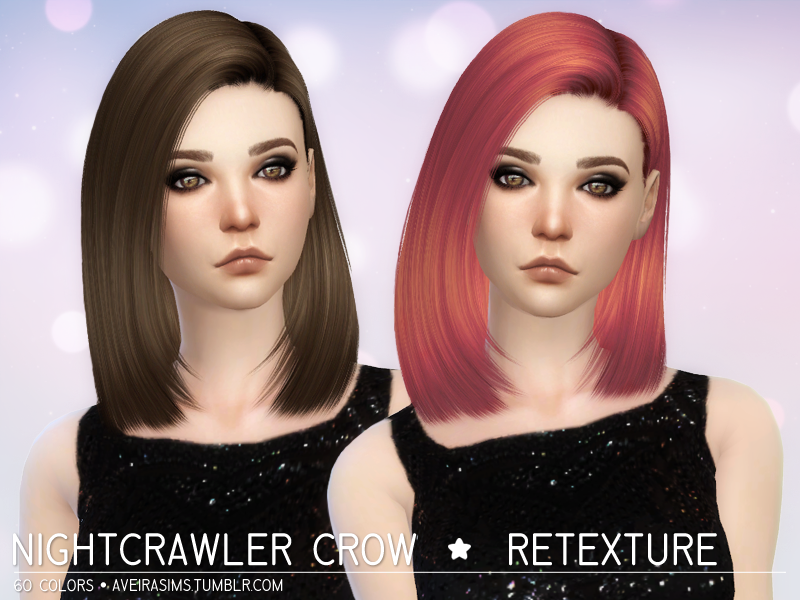 Nightcrawler Crow Hair Retexture by Aveira