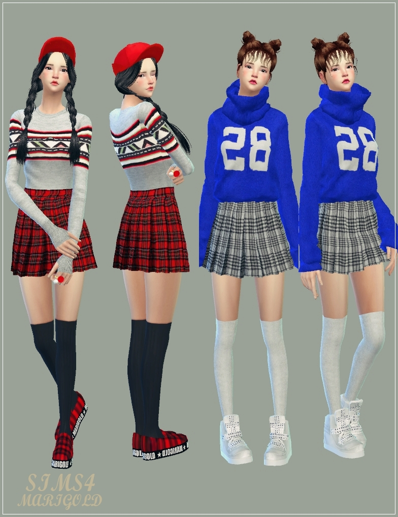 sims4marigold real pleats mini skirt V2_checked