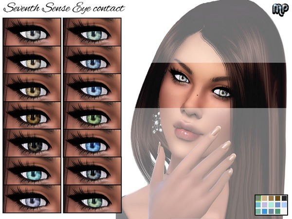 MP Seventh Sense Eye Contacts by MartyP