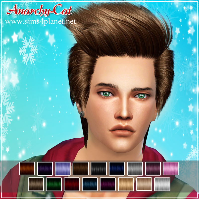 Skysims hair 256 by Anarchy-Cat