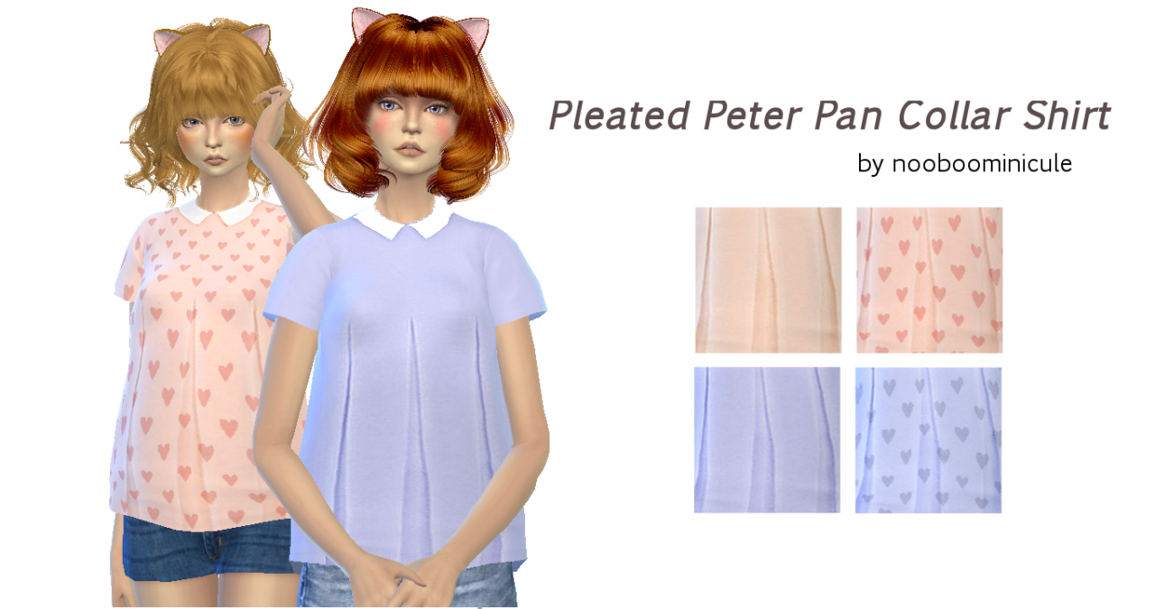 Nooboominicule_pleated_peter_pan_collar_shirt