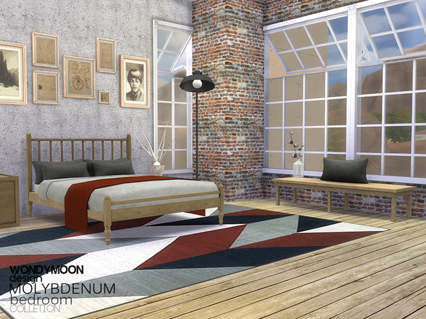 Molybdenum Bedroom by wondymoon