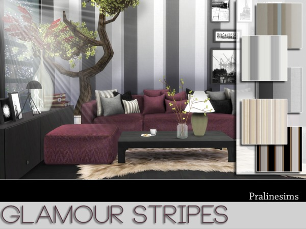 Glamour Stripes by Pralinesims