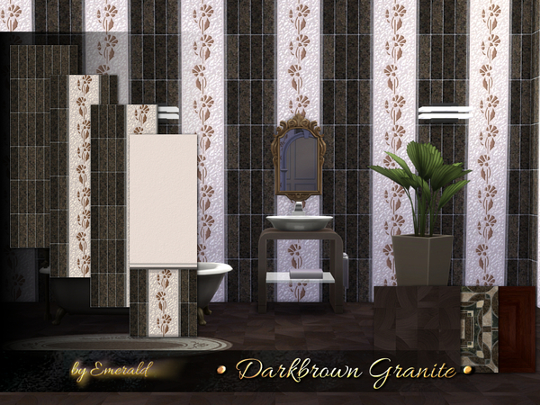 Darkbrown Granite by emerald