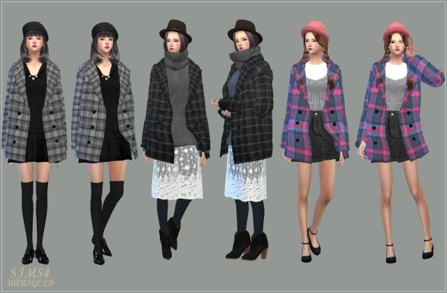 Accessory Winter Coats for Females by Marigold