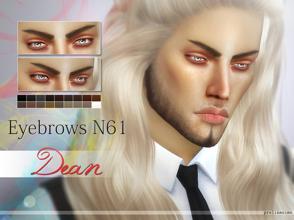 Eyebrow Minipack N07 - 5 Brows by Pralinesims