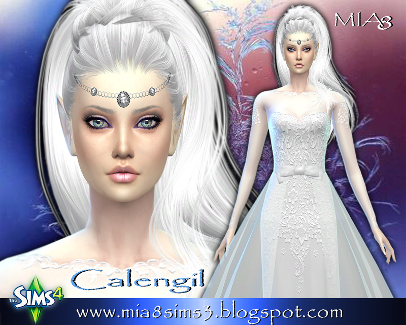 Calengil (elf) by Mia8
