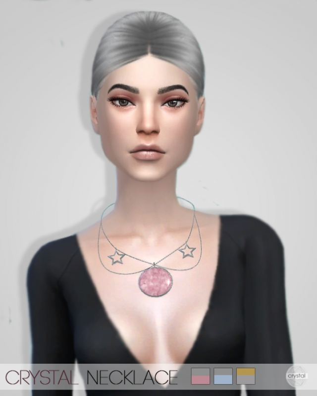 CRYSTAL NECKLACE by crystalsims