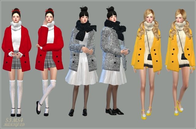 Accessory Winter Coats single colors by Marigold