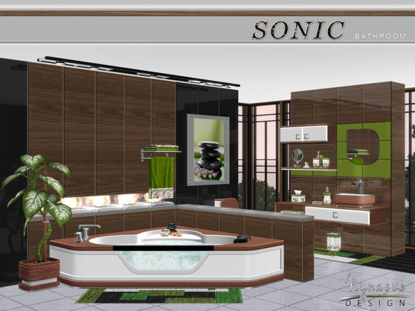 Sonic Bathroom by NynaeveDesign