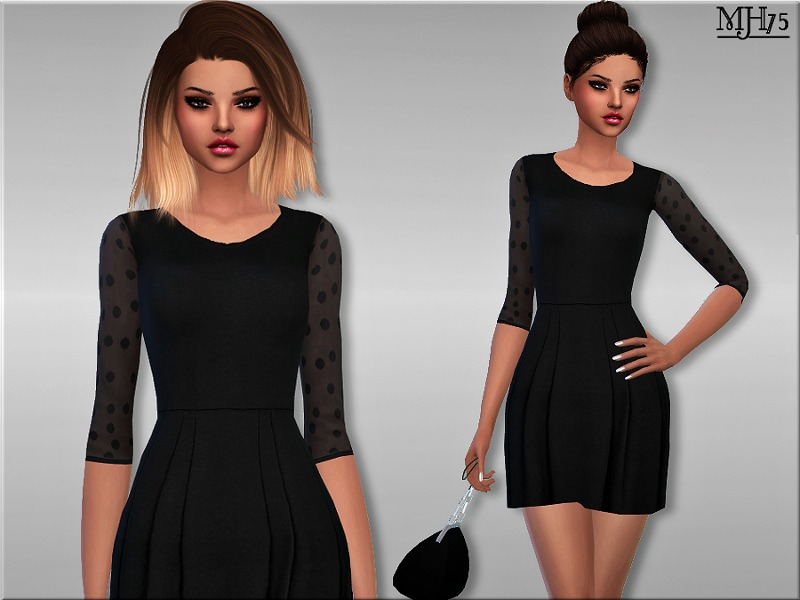 S4 Avery Polka Dot Dress BY Margeh-75